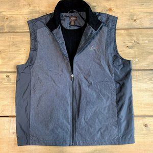 NWOT Greg Norman Mens Full Zip Vest-L
